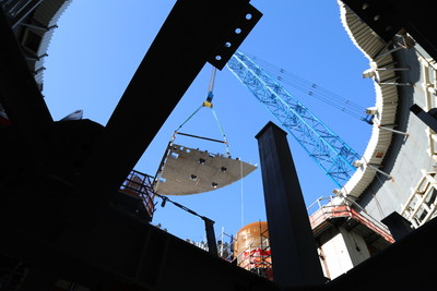 The CA55 module is placed for Georgia Power's Vogtle Unit 3.