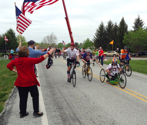 Adaptive athletes from across North America, Puerto Rico and Europe are arriving this week in Arlington and Valley Forge, Pennsylvania to participate in national non-profit World T.E.A.M.'s 16th annual Face of America bicycle and hand cycle ride to historic Gettysburg, Pennsylvania April 28-29.