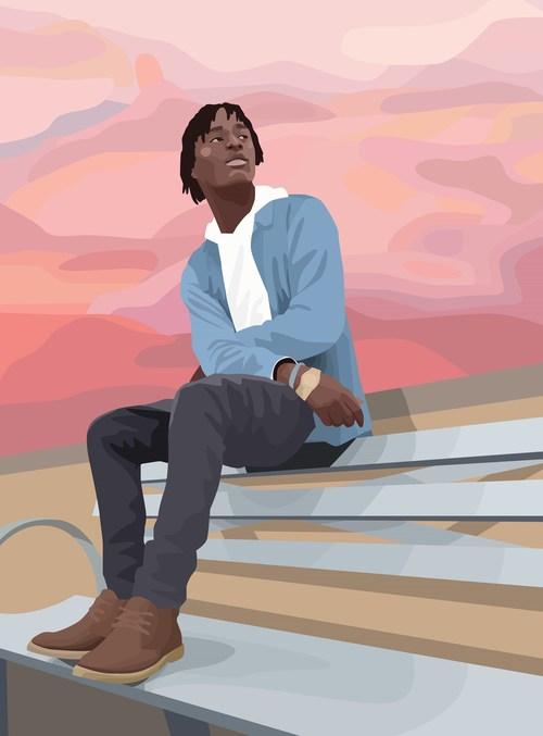 Ameya Okamoto, Black Life-Quanice Hayes, Courtesy of YoungArts