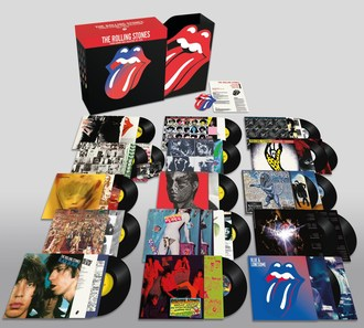 The Rolling Stones 'The Studio Albums Vinyl Collection 1971-2016'