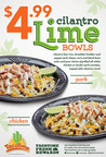 TacoTime Piles On The Flavor With $4.99 Cilantro Lime Bowls