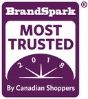 18,000 Canadians voted for their most trusted everyday consumer product brands (CNW Group/BrandSpark International)