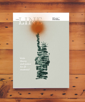 The Line Issue 3 is available at www.TheLineK12.com