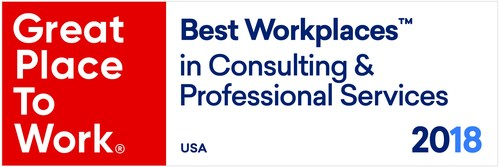 Best Workplaces in Consulting 2018 logo