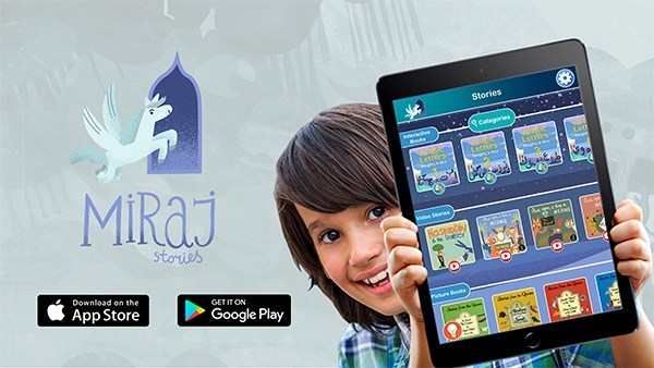 Miraj Studios Launches the First Ever Interactive Islamic Stories App for Kids