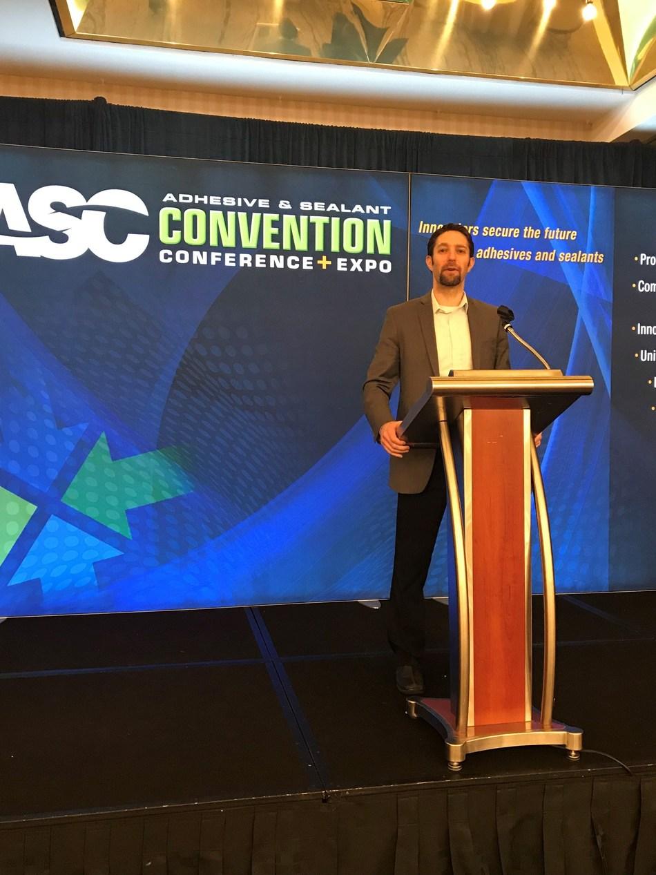 Bostik Earns ASC's 2018 Innovation Award for Brilliance (PRNewsfoto/Bostik)