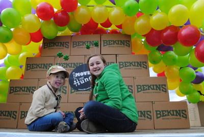 Fighting hunger is a family effort at Bekins Northwest.