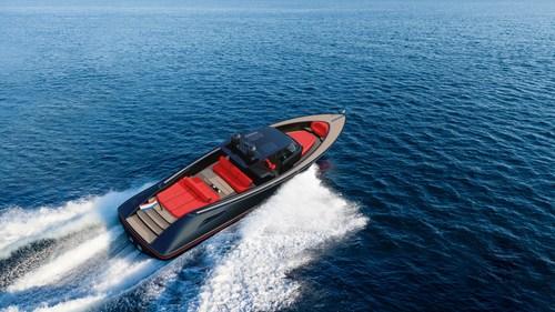 The new Wajer 55 S (PRNewsfoto/Wajer Yachts)