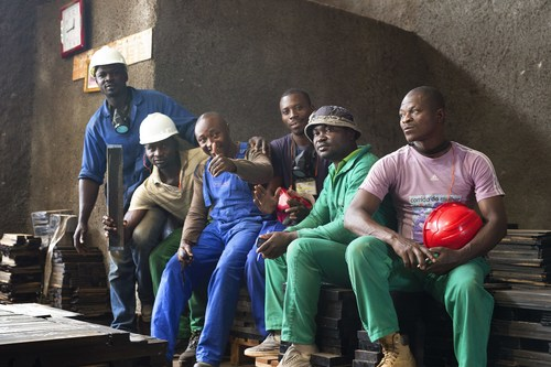 Crelicam Sawmill Workers in Cameroon
