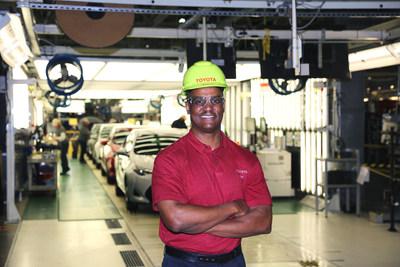 Sean Suggs, el presidente de Toyota Mississippi, habló durante la ceremonia inaugural de la planta para el nuevo centro de visitantes y anuncio de una inversión de $170 millones para construir el Corolla de 12ma generación utilizando la Nueva Arquitectura Global de Toyota (TNGA)