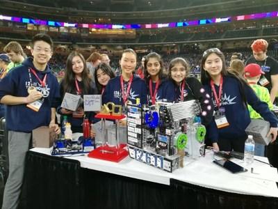 Team 12611 TechNova from Renton, WA--2018 FTC World Champions