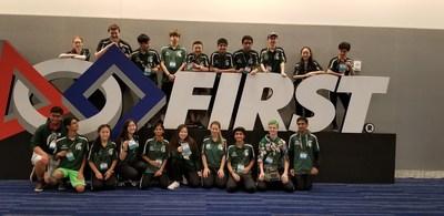 Skyline High School's Spartabots Team 2976--2018 FRC World Champions