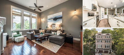 6B Idlewylde Road, Halifax, NS | $424,900 | Listing Agent: Chelsea Hill, Royal LePage Atlantic | Bedrooms: 3, Bathrooms: 4, Living Area: 2,600 sq. ft. (CNW Group/Royal LePage Real Estate Services)