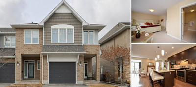 2465 Regatta Avenue, Ottawa, ON | $419,900 | Listing Agent: James Dean, Royal LePage Team Realty | Bedrooms: 3, Bathrooms: 2+1, Living Area: 2,121 sq. ft. (CNW Group/Royal LePage Real Estate Services)