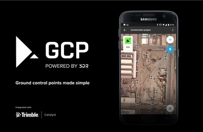 3DR launches GCP, an Android app for seamless collection of ground control points for drone mapping using Site Scan, their complete drone data platform. 3DR GCP integrates with Trimble Catalyst, a software-defined GNSS receiver and positioning service.