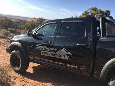 JC Whitney Honors American Heroes with a Sweepstakes Featuring Prizes including a Custom 2017 Ram Truck