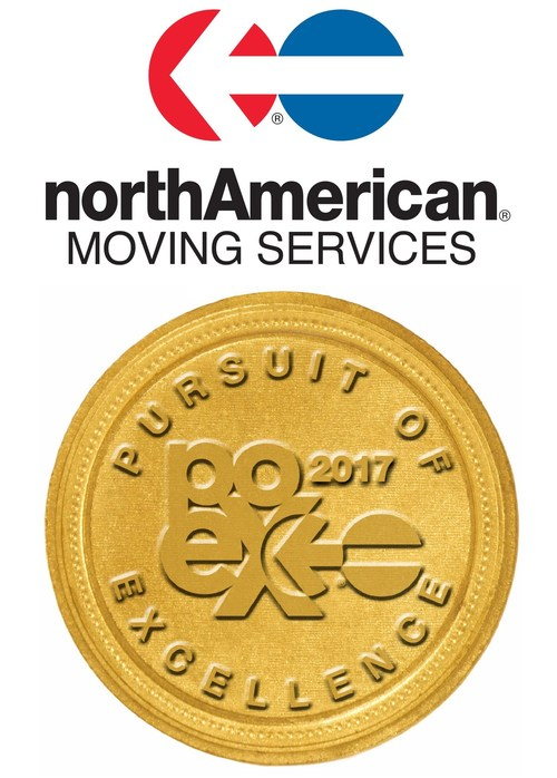 northAmerican® Van Lines proudly announces the 2017 Class of Pursuit of Excellence Winners. Pursuit of Excellence winners personify northAmerican's strong commitment to providing moving customers with a consistently exceptional level of moving services.
