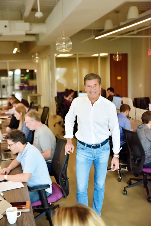 Ryan Wuerch, Dosh CEO at the Dosh Headquarters in Austin, TX