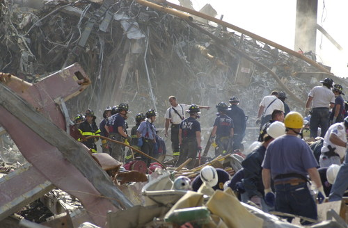 World Trade Center Disaster Site, Photo Credit for image:  FDNY