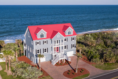 On Saturday, April 28, 2018, this charming beach house on Florida's northeastern coast will be sold at a live auction without reserve. The Flagler Beach property was recently asking $2.2 million, and offers 3 living levels, an elevator and a private boardwalk leading directly onto the sand. Luxury auction® firm Platinum Luxury Auctions is exclusively managing the sale. Learn more at OceanfrontLuxuryAuction.com.