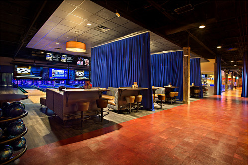 Private, upscale bowling lanes will be available at the new Stars and Strikes in Smyrna, TN