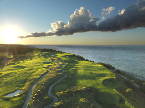 Hole 7 at The Links at Bay Harbor Golf Club. Photo Credit: Evan Schiller Photography