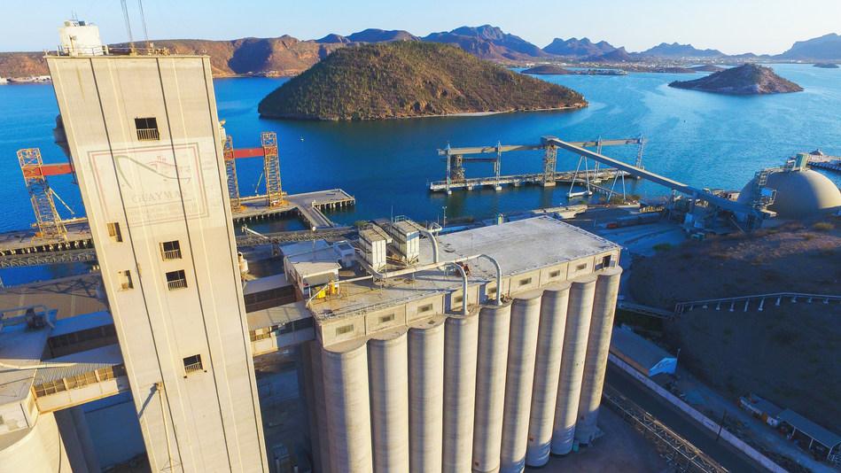 Figure 1. Port of Guaymas selects a complete Avigilon solution to help improve security, operational efficiency and regulatory compliance. (CNW Group/Avigilon Corporation)