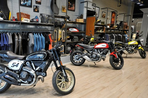 Ducati Opens Newest Exclusive Showroom in New York City