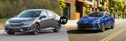 Compare the 2018 Honda Civic vs the 2018 Toyota Corolla on the Continental Honda website.