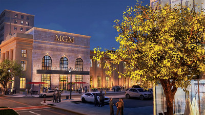 MGM Springfield is seamlessly integrated into the region's revitalized downtown experience