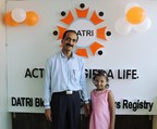 Gopal and Neerali sharing a happy moment together (PRNewsfoto/DATRI Blood Stem Cell Donors)