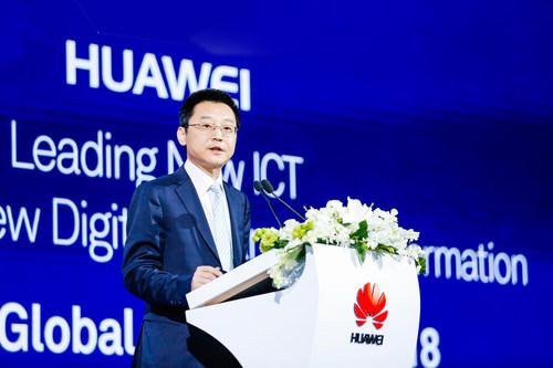 Ma Yue, vicepresidente de Huawei Enterprise BG y presidente de Ventas Globales de la Unidad de Negocios Empresariales (PRNewsfoto/Huawei)