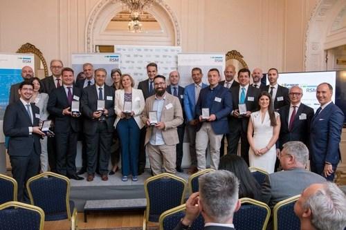 Greek 'National Winners' in the European Business Awards (PRNewsfoto/European Business Awards and RSM)