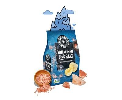 Red Rock Deli Himalayan Pink Salt Deli Style Potato Chips