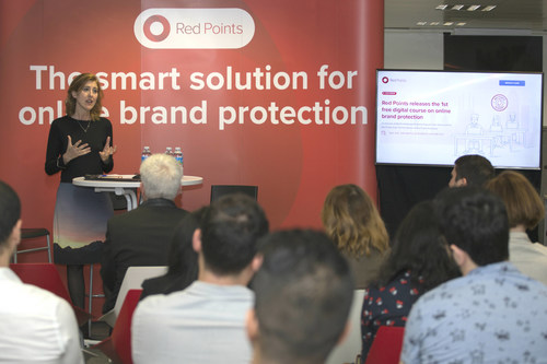 Laura Urquizu, CEO of Red Points, during the release of Red Points Academy (PRNewsfoto/Red Points)