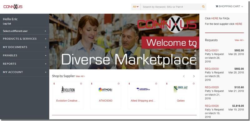 ConnXus Diverse Marketplace