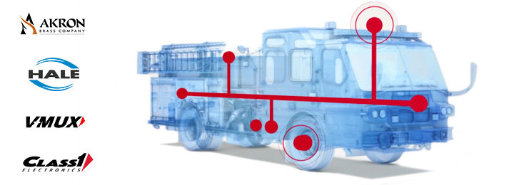 Captium connects the equipment used everyday on emergency vehicles for streamlined operations, increased up time, and improved vehicle health to keep you running when it matters most. By staying connected, you are given back critical time to focus on your job.