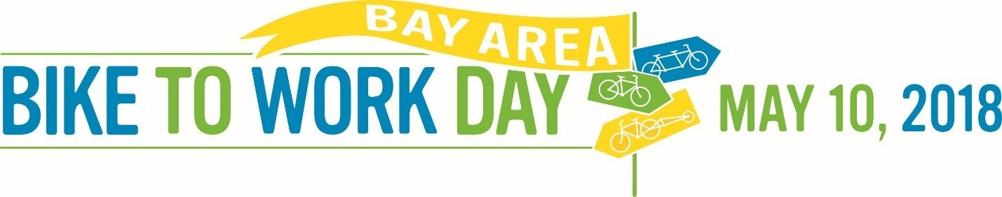 Bay Area Bike to Work Day is being held on May 10, 2018, additional information is available at www.youcanbikethere.com