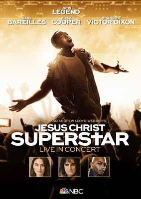 Jesus Christ Superstar Live in Concert – Original Soundtrack of the NBC Television Event Available Now // Live Concert DVD Out June 15 - Preorder Now!