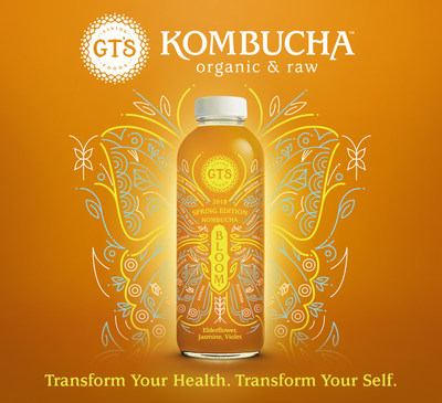 GT's Launches New Limited Edition Kombucha -- Bloom -- Supports Born This Way Foundation