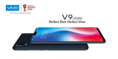 Vivo's all-new 'V9' AI-Powered FullView™ Display Smartphone is now available in International Markets