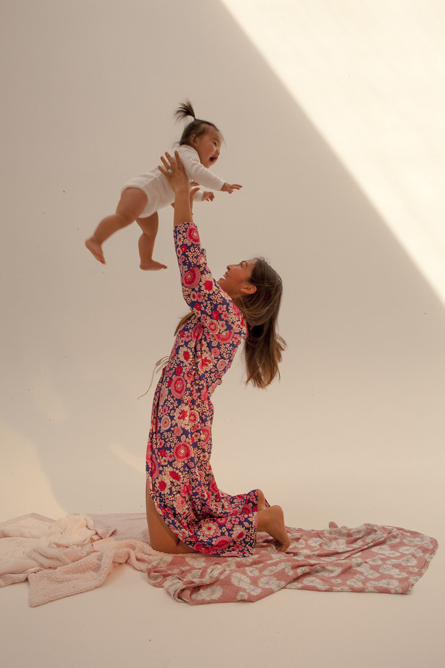 Mia and her Mother Kelli Han/ Photo Courtesy: Lula Hyers @LulaHyers Magazine: The September Issues @TheSeptemberIssues