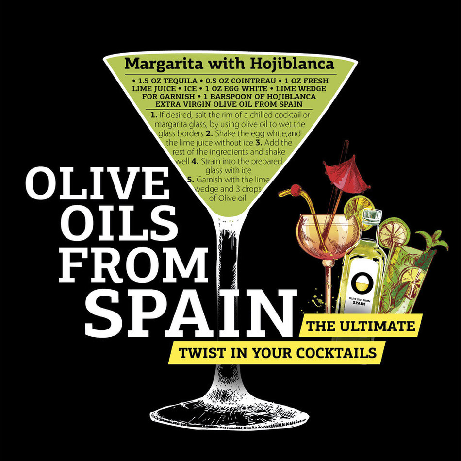 Try this classic cocktail like never before with Olive Oils from Spain.