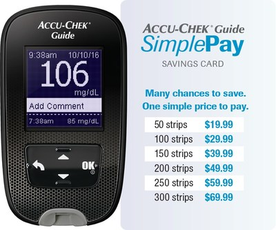 Accu-Chek(R) Guide Meter and SimplePay Card