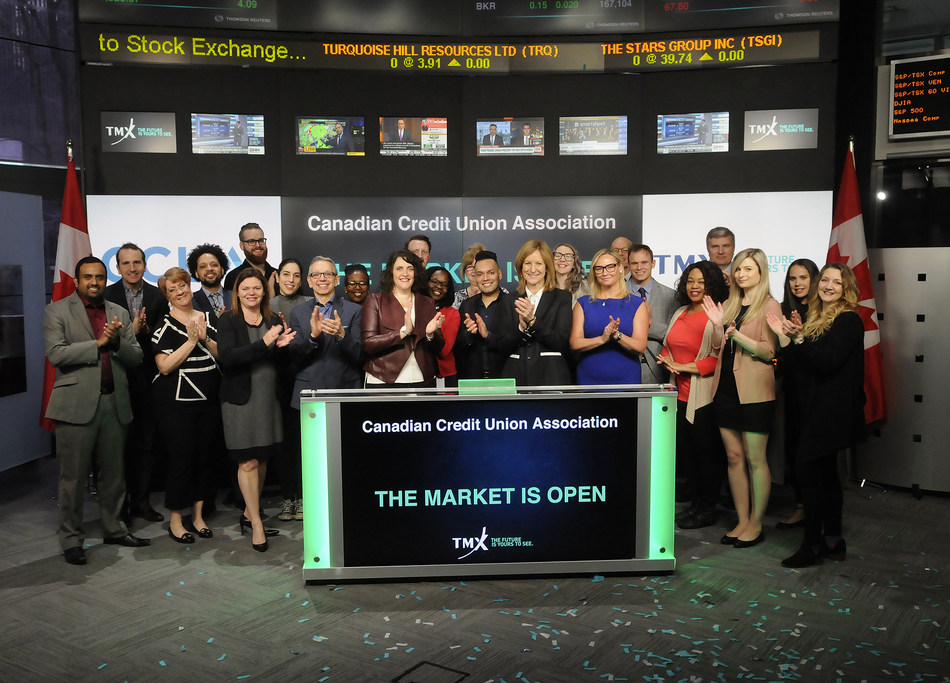 Canadian Credit Union Association Opens the Market (CNW Group/TMX Group Limited)