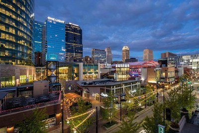 Welcoming over 50 million annual visitors a year, Cordish developments are among the highest profile dining, entertainment and hospitality destinations in the country. (Power & Light District - Kansas City, MO)