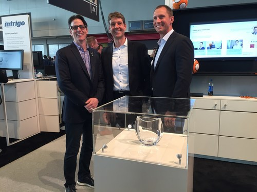 Left to right: Barry Padget (President, SAP Ariba), Thomas Herbst (Founder & Managing Director, apsolut Group), David Johnston (Senior Vice President Global Channels & Alliances, SAP Ariba)