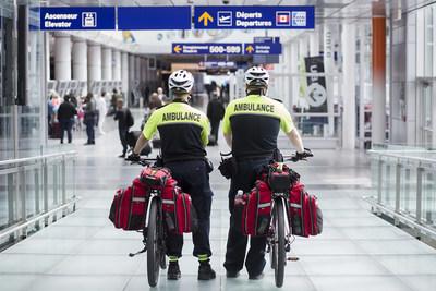 Urgences-santé has a permanent presence at Montréal-Trudeau airport (CNW Group/Aéroports de Montréal)
