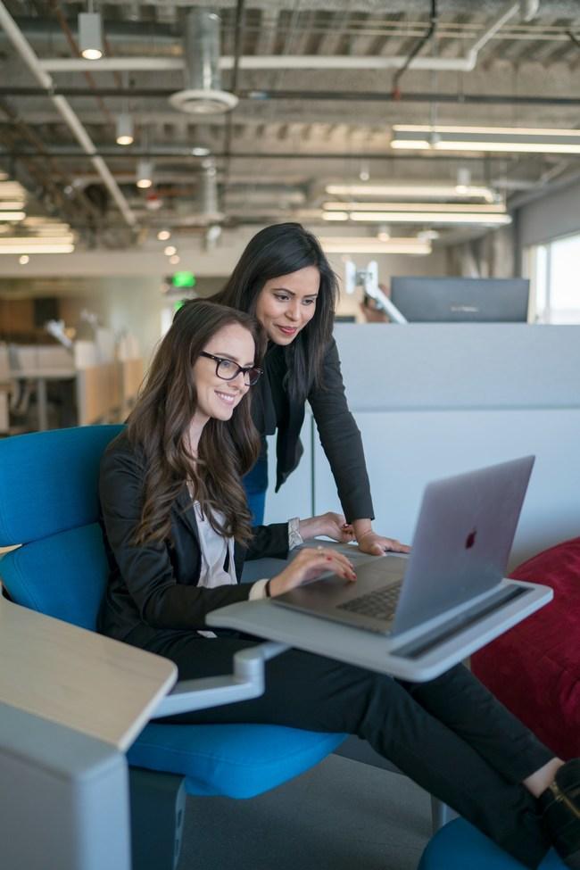 Anamika Bir, Software Developer and Jessica Simm, Marketing Producer.