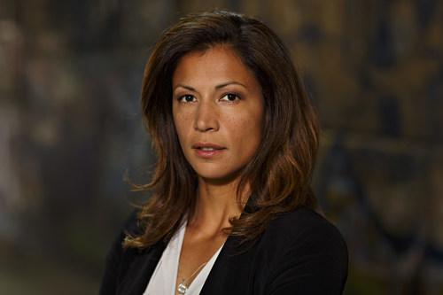 Malin Arvidsson as Kerstin Holm in Arne Dahl: Season 2 (Photo: Johan Paulin)